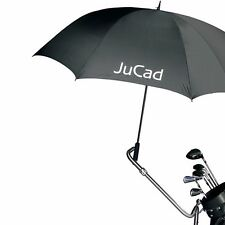 Jucad Golfschirm groß in schwarz - mit Titanstift! Neu!
