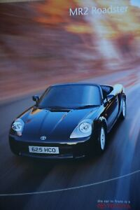 Toyota MR2 Roadster brochure 16 pages 2000