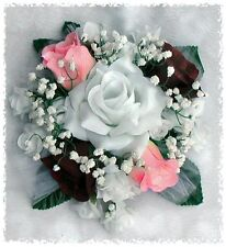 Cake Topper ~ MANY COLORS ~ Party Decorations Silk Wedding Flowers Centerpieces