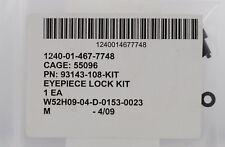 FRASER VOLPE M25 BINOCULARS REPLACEMENT EYEPIECE LOCK 93143-108-KIT MILITARY SET