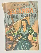 61013 Salgari - Jolanda la figlia del corsaro nero - ED. Lucchi 1968