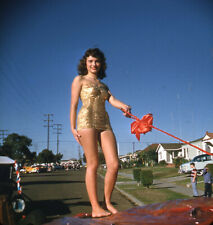 New listing Vintage Stereo Realist Photo 3D Stereoscopic Slide PINUP North Park Toy Parade