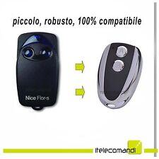 Telecomando apricancello Be.Nice compatibile con Nice Flor Flor-s Flo1r-s Flo2r