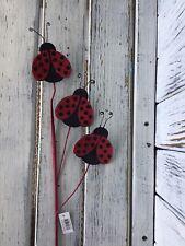 Ladybug Floral Pick