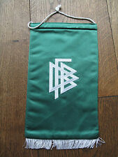 Original alter Fussball DFB Wimpel