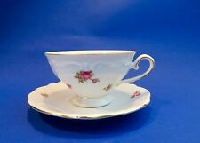 Bavaria Western Germany  Rose Bud Pattern CUP & SAUCER + 1 Free Saucer