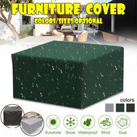 115x115x70CM Waterproof Outdoor Garden Patio Table Chair Furniture Seater  */!