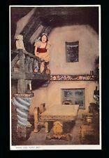 WALT DISNEY Mickey Mouse Ltd  Film Snow White House 1933 OLYMPIA Valentine PPC