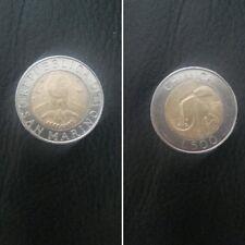 San Marino moneta  500 lire del 1998