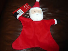 BNWT baby boy / girl santa / father christmas comfort blanket. 09206892. M&S