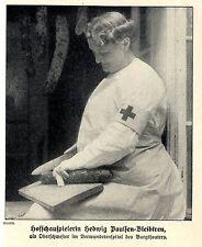 Prominente Wiener Rote Kreuz Schwester (6) Historische Aufnahme von 1914