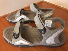 q56 COLUMBIA WOMENS SIZE 8M RIPTIDE TUSK YL6045925 TAUPE SPORT SANDALS