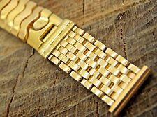 Unused NOS Kestenmade 16mm Vintage Expansion Watch Band Bracelet Gold Filled