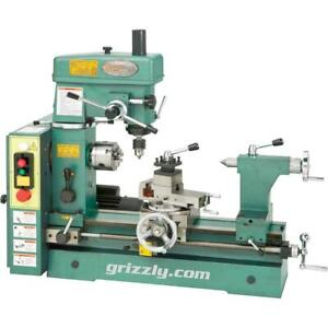 """Grizzly G4015Z 19-3/16"""" 3/4 HP Combo Lathe/Mill"""