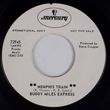 BUDDY MILES EXPRESS: Memphis Train MERCURY Funk Mod Hendrix Promo 45 HEAR