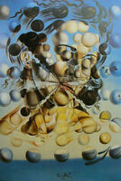 Framed Print - Salvador Dali Galatea of the Spheres (Painting Picture Poster Art