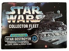 Kenner Star Wars Collector Fleet Electronic Star Destroyer