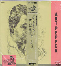 LP JAPAN ART PEPPER DIRECT FROM ORIGINAL SP VOL 3