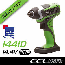 CEL 14.4V Li-Ion Cordless Impact Driver -  Battery not included