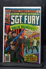 Sgt Fury and His Howling Commandos #137 Marvel 1976 Stan Lee Blazing Battle 6.5