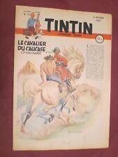 HERGE JOURNAL DE TINTIN FRANCAIS N° 15 / 3 février 1949 JACOBS ALIX TTBE