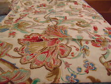 Ralph Lauren fabric Antigua paisley Floral full/ Queen Comforter/shams westpoint