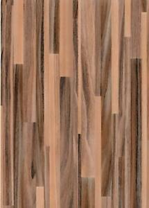 DIY Kitchen Wood Vinyl Cover Brown Worktop Counter Top Self Adhesive Sticky Wrap