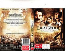 Deadwood-Complete First Season-2004/2006-TV Series USA-4 Disc-DVD