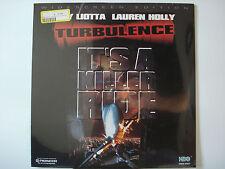 Turbulence 1997 LTBX AC-3 Laser Disc NEW Ray Liotta Lauren Holly Hector Elizondo