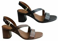 NEW NATURALIZER ARIANNA WOMENS COMFORTABLE LEATHER MID HEEL SANDALS