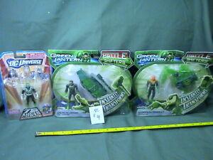 DC action figure lot #4, Green Lantern, Guy Gardner, and Hal Jordan, Tamar-Re