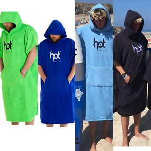 Changing Robes Hotsurf 69 Hooded Surf Changing Robes Beach Towels - All Colours