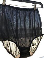 Vintage Walmart brand granny pantieS, Sz 5, 1970's