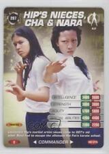 2007 007 Spy Cards: Commander #207 Hip's Nieces Cha & Nara Gaming Card 1i3