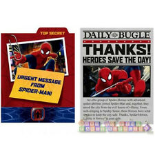 ULTIMATE SPIDER-MAN INVITATIONS AND THANK YOU NOTES (8ct.ea.) ~Birthday Supplies