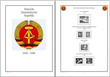 Hit formulaire feuilles RDA 1949-1990 avec des images sur CD dans Word et PDF