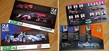 Cartes postales 24 heures du Mans automobile - Pilotes - Juin 2015