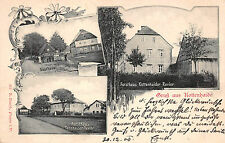 Saluto dalla kottenhaide Vogtland locanda, Casa Forestale Tannhauser cartolina 1908