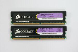 4GB (2x2GB) Corsair XMS2 DDR2 Memory 800MHz CL5 PC2-6400 1.8V TWIN2X4096-6400C5