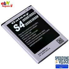 BATTERIA PER SAMSUNG GALAXY S4 i9500 i9502 i9505 i9508 POTENZIATA 2600mAh NUOVA