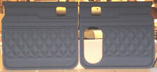 Peterbilt Vinyl Covered Custom Made Door Panels Diamond 359, 379 Color Black