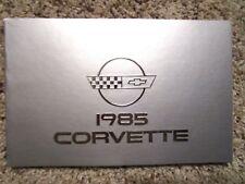 1985 corvette manual ebay rh ebay ca 1985 corvette owners manual download 1985 corvette service manual pdf