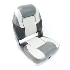 Premium Centurion Boat Seat - Grey/Charcoal Style By MiDMarine