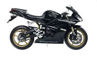 Triumph 675 Daytona 1:10 Diecast Motorcycle Model Black