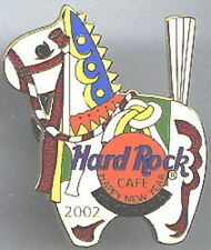 Hard Rock Cafe YOKOHAMA 2002 Happy New Year PIN White Horse (Kazari Uma) #12317
