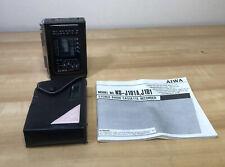 Vintage AIWA HS-J101  Cassette Radio Recorder  AM FM Tape Auto-Reverse