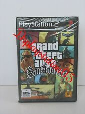 Grand Theft Auto SanAndreas PS2 100% AUS Game,Pal Version Brand New And Sealed