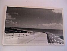 Vintage Bahia Honda Bridge Overseas Hwy. Key West Florida Real Photo Postcard