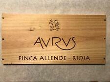 1 Rare Wine Wood Panel Avrvs Finca Allende Vintage Crate Box 5/18 751