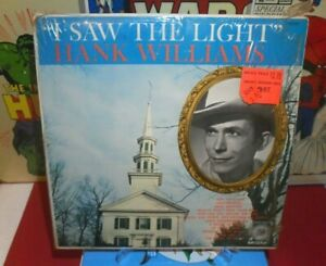 HANK WILLIAMS I SAW THE LIGHT LP MGM RECORDS E-3331 COUNTRY MUSIC *USED*
